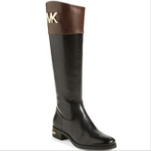 "Michael Kors ""Hayley"" Leather Boots"